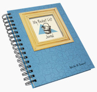 Bucket List Write-It-Down Journal (Light Blue)