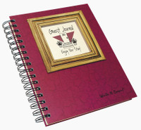 Guest Lake House Write-It-Down Journal (Cranberry)