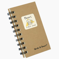 Beer Mini Write-It-Down Journal