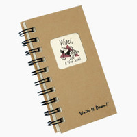 Wine Mini Write-It-Down Journal