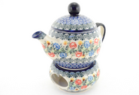 Small Teapot With Warmer