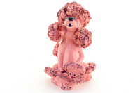 Poofy Pink Poodle Teapot