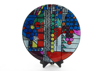 May Basket Circle Plate