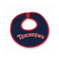 Touchdown Football Baby Bib