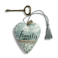 Family's Life Greatest Gift Art Heart