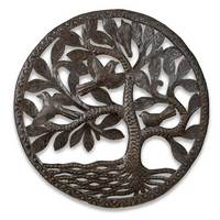Easy Breezy Tree Metal Wall Art