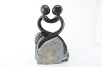 "Carved Springstone ""Lovers"" (Black)"