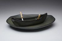 Sage Canoe on a Lake Gift Set
