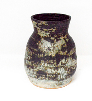 Large Green and Gray Vase
