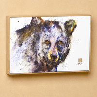 Determined Black Bear Wall Art, Dean Crouser