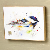 Black Cap Chickadee Wall Art, Dean Crouser