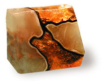 Fire Geode Soap Rock