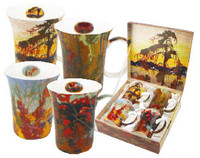 Tom Thomson Set of 4 Mugs