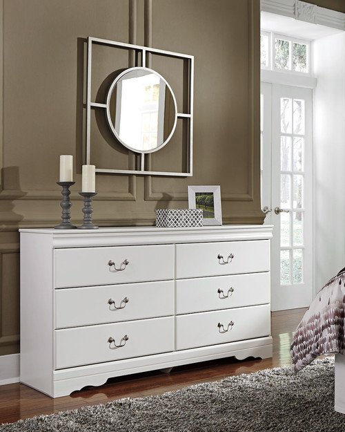 The Anarasia White Dresser From Signature Design By Ashley
