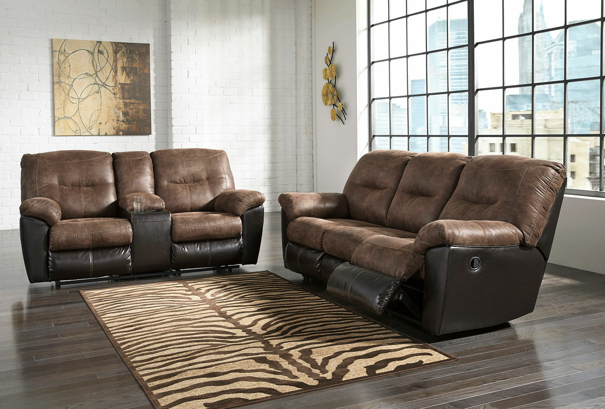 Fantastic Follett Coffee Reclining Sofa Double Reclining Loveseat With Console Beutiful Home Inspiration Cosmmahrainfo