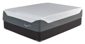14 Inch Chime Elite White/Blue California King Mattress