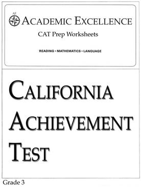 CAT Prep Pack: Grade 3 - PDF Download