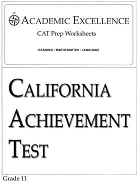 CAT Prep Pack: Grade 11 - PDF Download