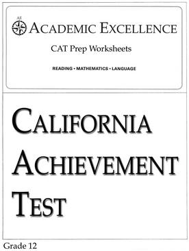 CAT Prep Pack: Grade 12 - PDF Download