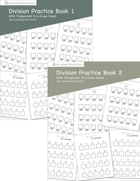 Division Practice Book Bundle