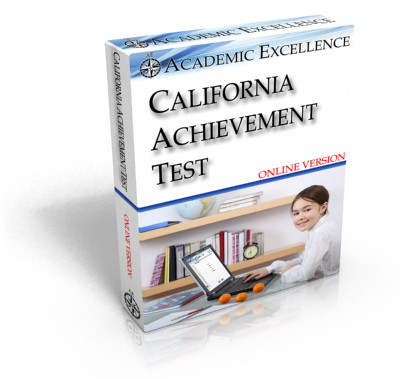 Complete ONLINE California Achievement Test: TIMED