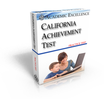 Practice ONLINE California Achievement Test: TIMED
