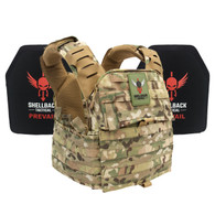 Shellback Tactical Banshee Elite Defender System with Level III 1078 Armor Plates (SBT-BeDS-1078) Multicam