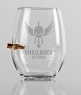 "Shellback Tactical ""Bulletproof"" Wine Glass"