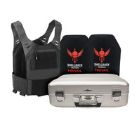 Zero Halliburton and Shellback Tactical Executive Defense Kit