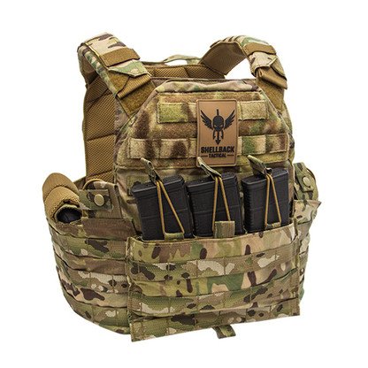 Shellback Tactical SF Plate Carrier Multicam Front Loaded