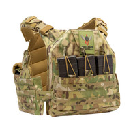 Shellback Tactical SF Quick Release Plate Carrier Multicam Front
