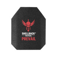 Shellback Tactical Prevail Series 10 x 12 NIJ 0101.06 Certified Stand Alone Level III+Hard Armor Plate Model AR500