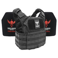 Shellback Tactical Patriot Active Shooter Kit with Level IV Plates Black