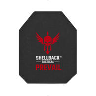 Shellback Tactical Prevail Series 10 x 12 NIJ 0101.06 Certified Level III Hard Armor Plate Model 3S11