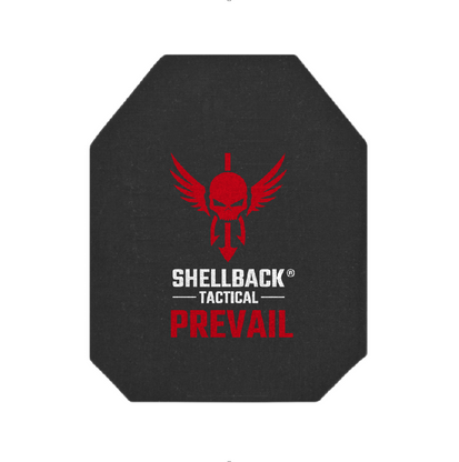 Shellback Tactical Prevail Series 10 x 12 NIJ 0101.06 Certified Level IV Hard Armor Plate Model 4S17