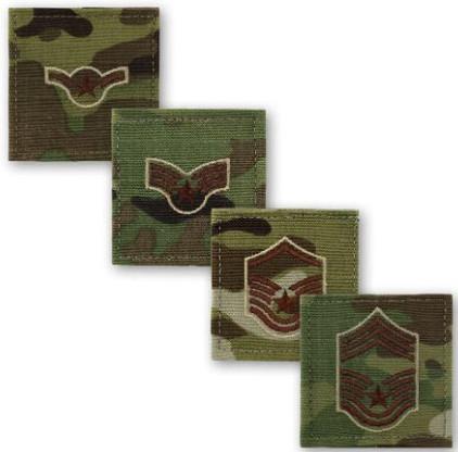 Shellback Tactical Air Force OCP Rank