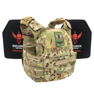 Shellback Tactical Patriot Defender System with Level III 1078 Armor Plates Multicam