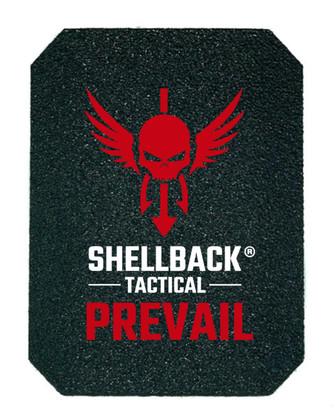 Shellback Tactical Prevail Series NIJ 0101.06 Certified Level III+ Hard Armor Side Plate Model AR500 Front