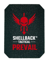 Shellback Tactical Prevail Series NIJ 0101.06 Certified Level III+ Hard Armor Side Plate Model AR500 Front