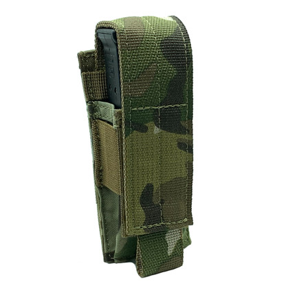 Shellback Tactical Single Pistol Mag Pouch Multicam