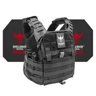 Shellback Tactical Banshee Elite 2.0 Active Shooter Kit with Level IV 4S17 Plates Black