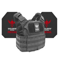 Shellback Tactical Patriot Active Shooter Kit with Level IV 4S17 Plates Black
