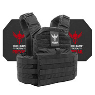 Shellback Tactical Skirmish Active Shooter Kit with Level IV 4S17 Plates Black
