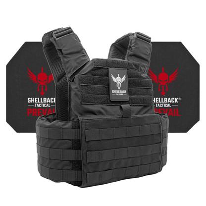 Shellback Tactical Skirmish Active Shooter Kit with Level IV 4S17 Plates Black