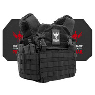 Shellback Tactical Rampage Active Shooter Kit with Level IV 4S17 Plates Black