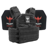 Shellback Tactical Skirmish Active Shooter Kit with Level IV 1155 Plates Black