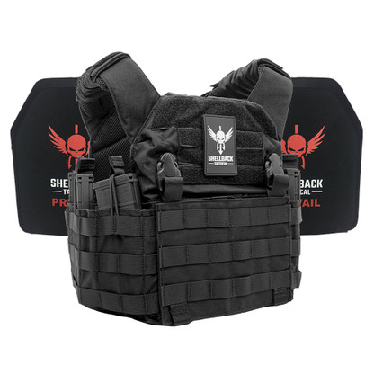 Shellback Tactical Rampage Active Shooter Kit with Level IV 1155 Plates Black