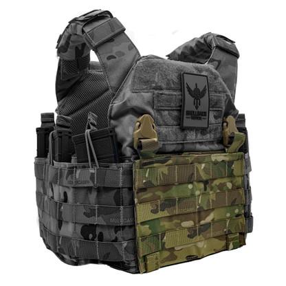 Shellback Tactical Molle Clip Placard Multicam