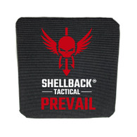 Shellback Tactical Prevail Series 6 x 6 Inch Stand Alone Level IV Hard Armor Side Plate Model 4S17