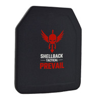 Shellback Tactical Prevail Series 10 x 12 Inch Stand Alone Level III Hard Armor Plate Model LON-III-P